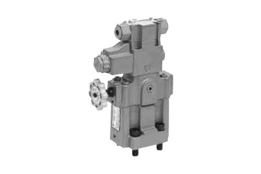 Relief valves with a solenoid valve