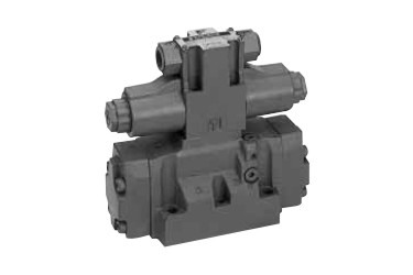 Daikin Solenoid controlled pilot operated directional control valve
