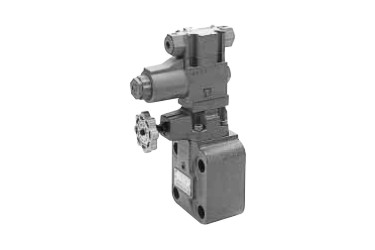 Relief valve with solenoid operated valve