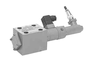 Direct type solenoid proportional throttle valve